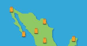 viajar de mochilazo por Mexico
