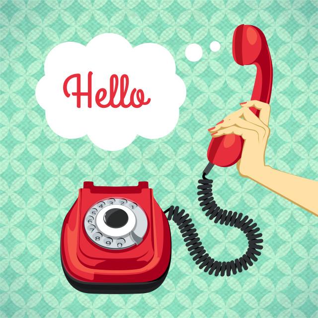 llamar por telefono en ingles