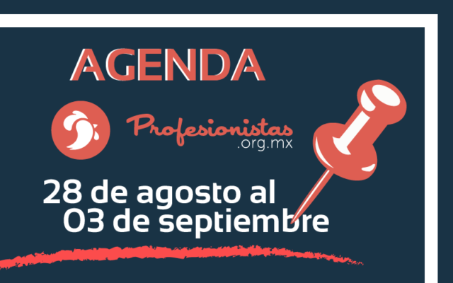 Agenda Profesionistas agosto
