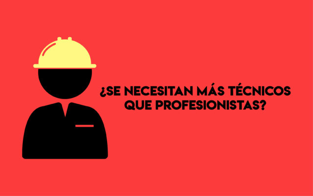 técnicos profesionistas