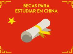 becas para china