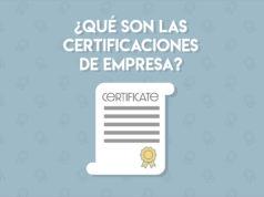 certificaciones de empresas